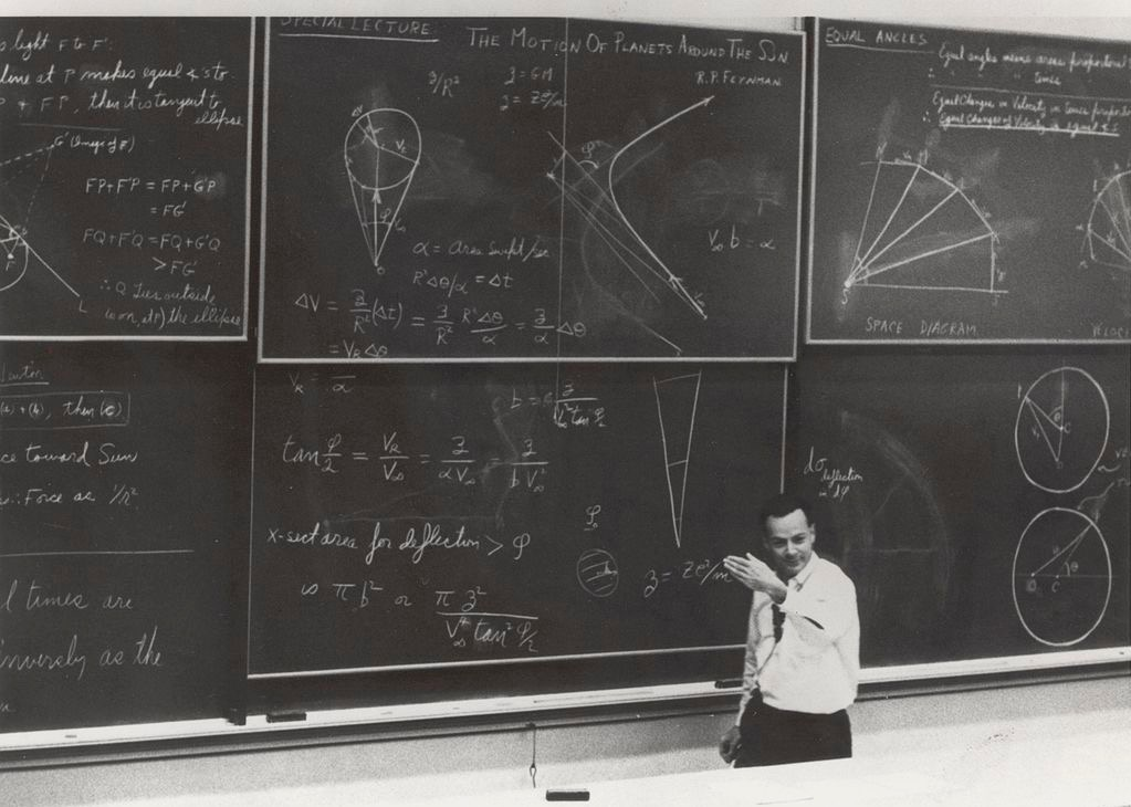 feynman math as language