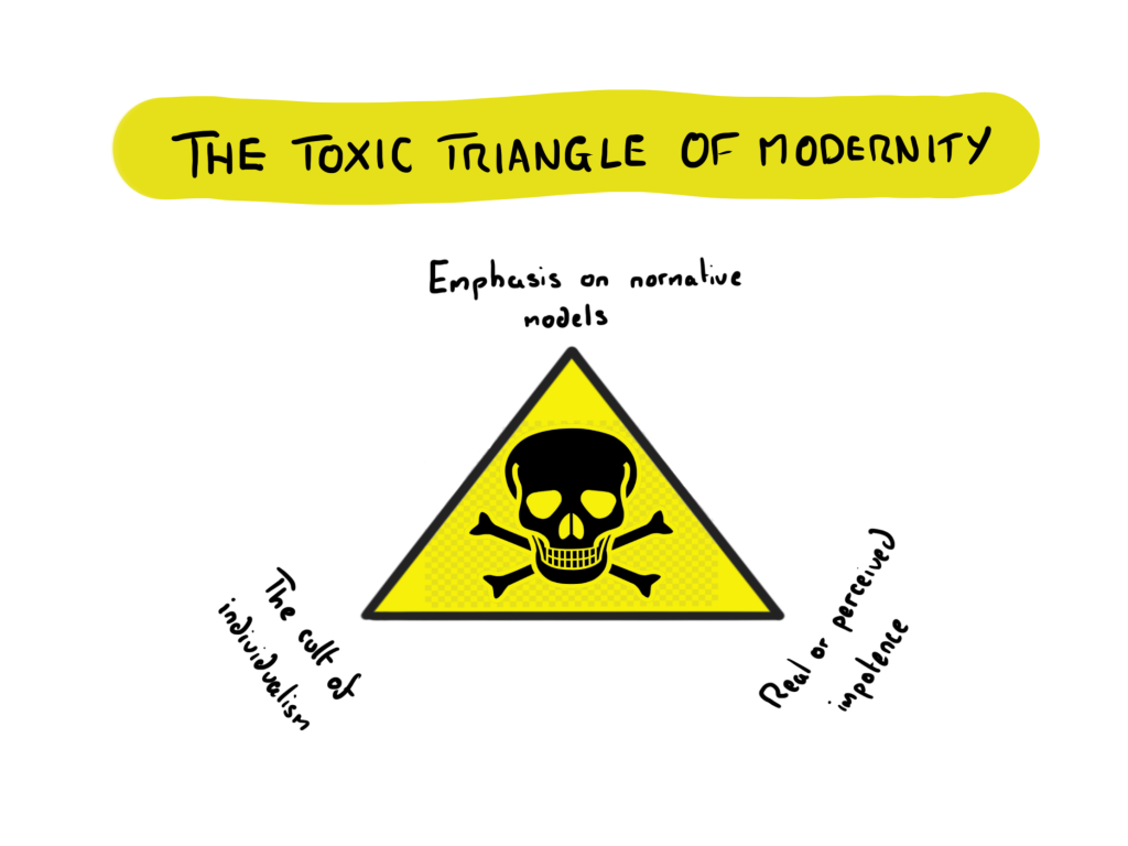 toxic triangle of modernity